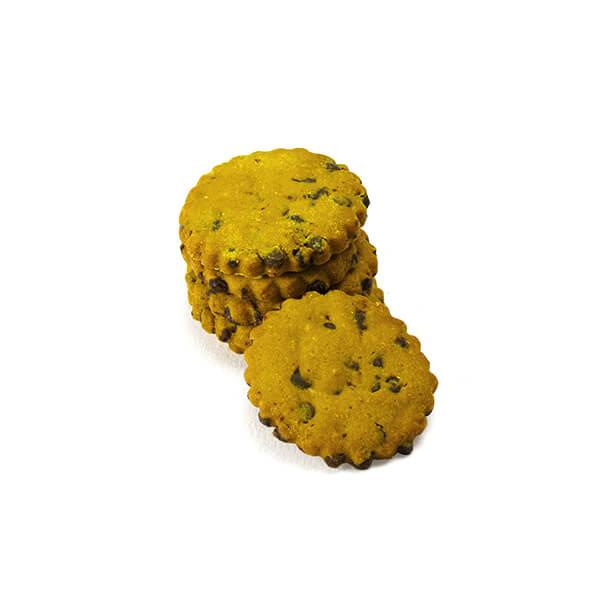 Biscotti curcuma e cioccolato