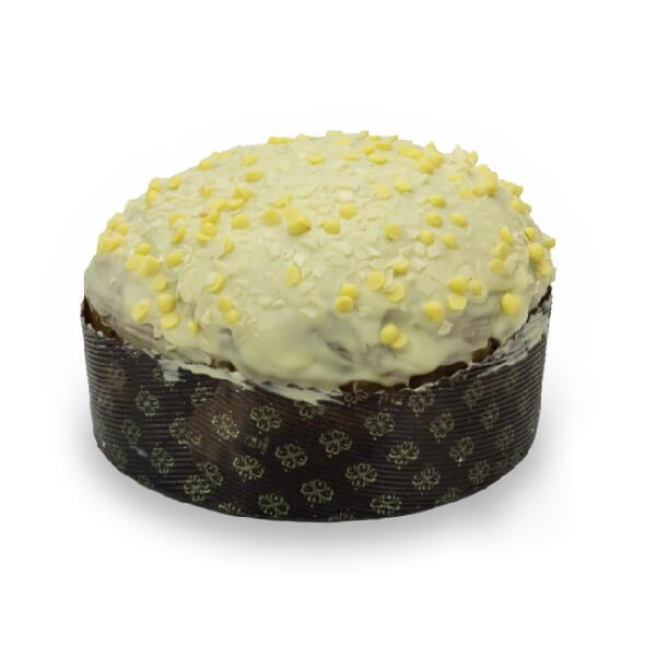 Panettone Cioccolato bianco profumato al limone
