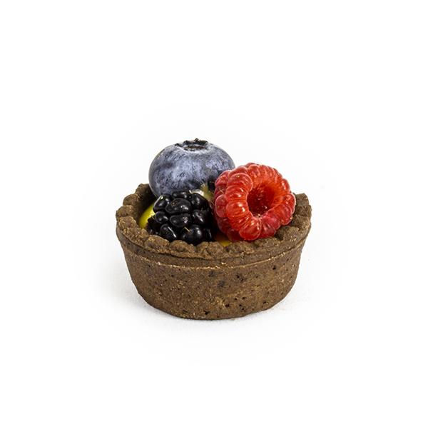 Cestini di frolla frutti di bosco
